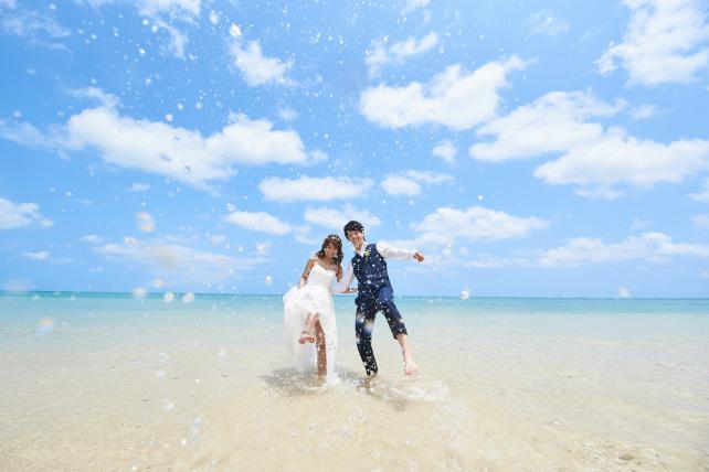 【New!】沖縄ロケーションフォト トラッシュザドレス ライトプラン