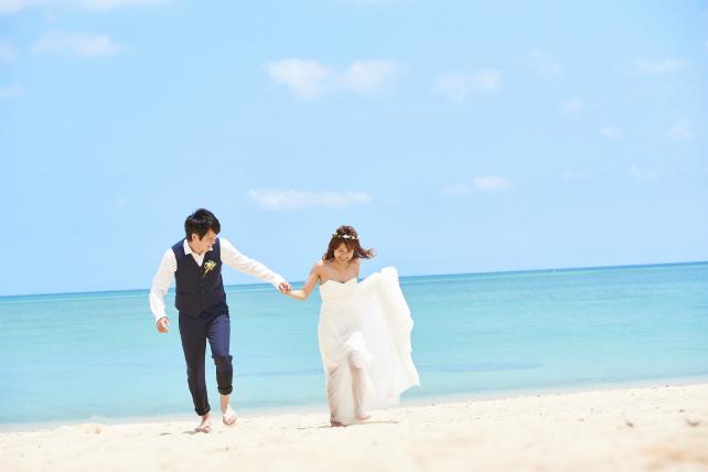 【New!】沖縄ロケーションフォトウェディング ライトプラン