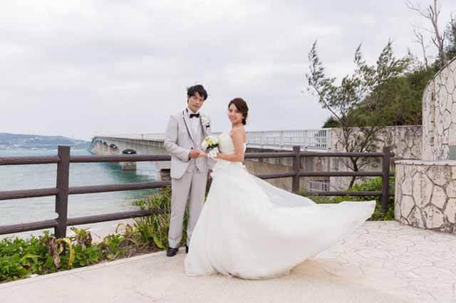 古宇利大橋フォトウェディング|沖縄ウェディングオンライン