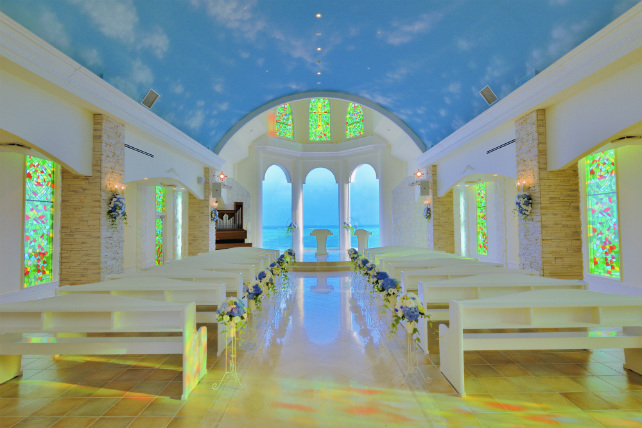 チャペル「リザン・ル・アンジュマリー教会」