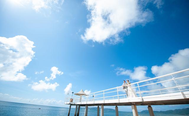 フサキビーチリゾート ホテル&ヴィラズのフォトウェディング|沖縄ウェディングオンライン
