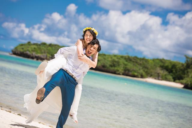 石垣島ビーチフォトウェディング|沖縄ウェディングオンライン