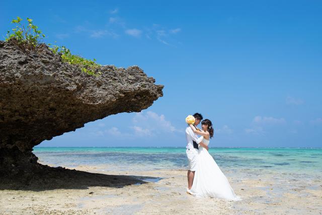 石垣島タバガービーチでフォトウェディング|沖縄ウェディングオンライン