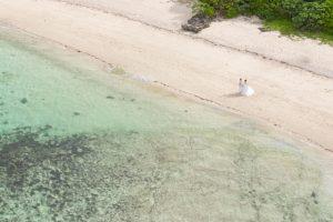 沖縄フォトウェディング ドローン撮影|沖縄ウェディングオンライン