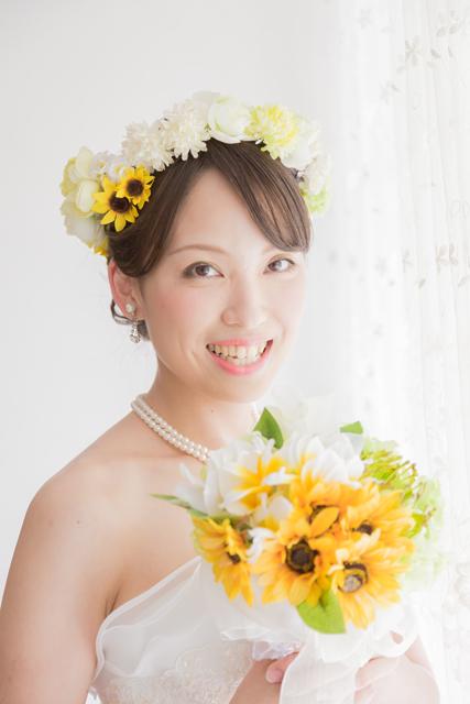 沖縄ビーチフォト「花冠」|沖縄ウェディングオンライン
