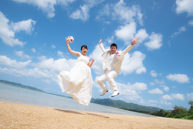 人気ランキング第5位石垣島ビーチフォトウェディング 沖縄ウェディングオンライン