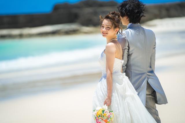 宮古島ビーチフォトウェディング|沖縄ウェディングオンライン
