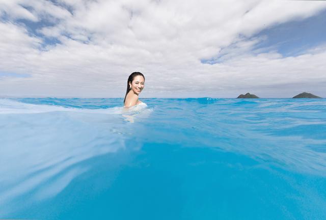 水中撮影用スイムウェディングドレス|沖縄ウェディングオンライン