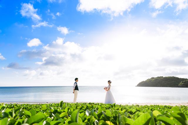 7月の沖縄フォトウェディング|沖縄ウェディングオンライン